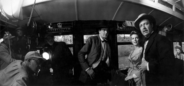 """Man of the West""Director Anthony Mann, Gary Cooper, Julie London, Arthur O"