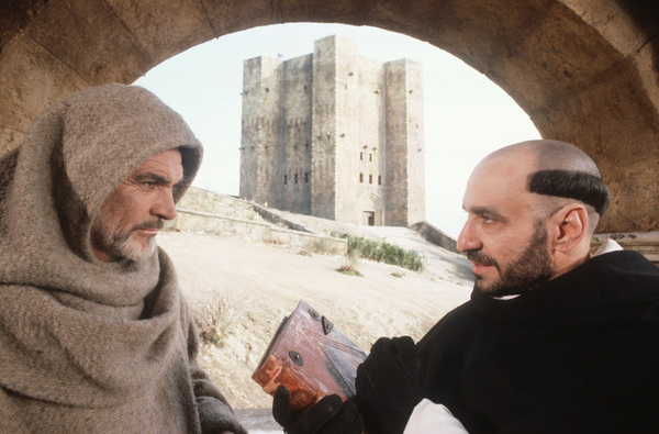 """""""The Name of the Rose""""Sean Connery, F. Murray Abraham1986 © 1986 Bob Willoughby - Image 6885_0006"""