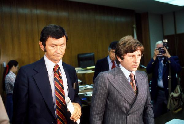 Roman Polanskiduring his trial1977 © 1977 Gunther - Image 7200_0005