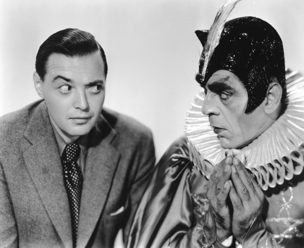 "Boris Karloff with Peter Lorre""Charlie Chan at the Opera""Twentieth Century Fox 1937**I.V. - Image 7554_0120"
