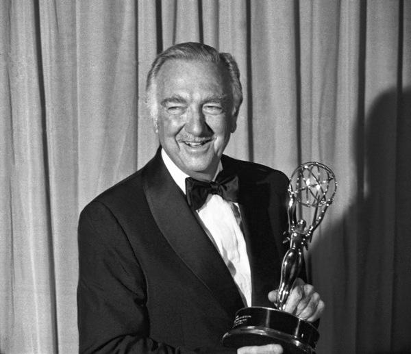 Walter Cronkite and his Emmy Award1979© 1979 Michael Jones - Image 7556_0018