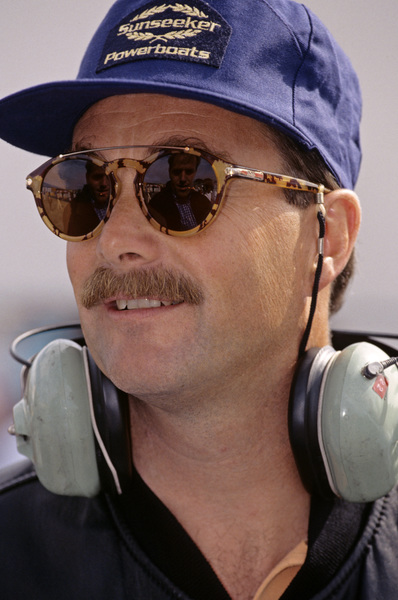 Nigel Mansell at the Laguna Seca Raceway for the Toytota Monterey Grand Prix1992 © 1992 Ron Avery - Image 7659_0003