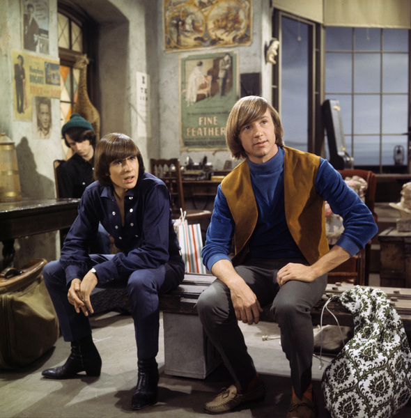 """The Monkees""Michael Nesmith, Davy Jones,Peter Tork1967© 1978 David Sutton - Image 7671_0014"