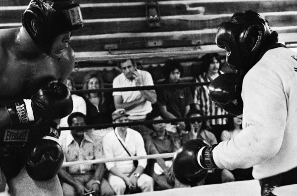"Muhammad Ali sparring with Eddie ""Bossman"" Jones1974© 1978 Peter Angelo Simon - Image 7683_0624"
