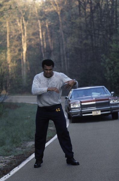 Muhammad Ali at his training camp in Deer Lake, Pennsylvaniacirca 1980© 1980 Gunther - Image 7683_0627