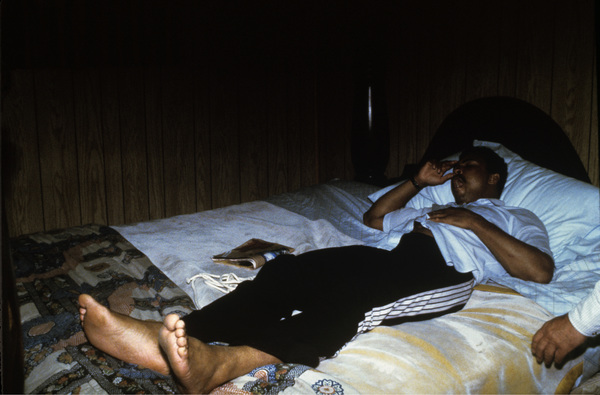 Muhammad Ali at his training camp in Deer Lake, Pennsylvaniacirca 1980© 1980 Gunther - Image 7683_0628