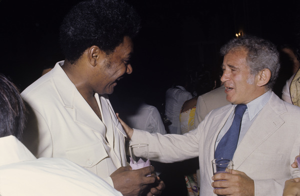 Don King and Norman Mailercirca 1980© 1980 Gunther - Image 7683_0629