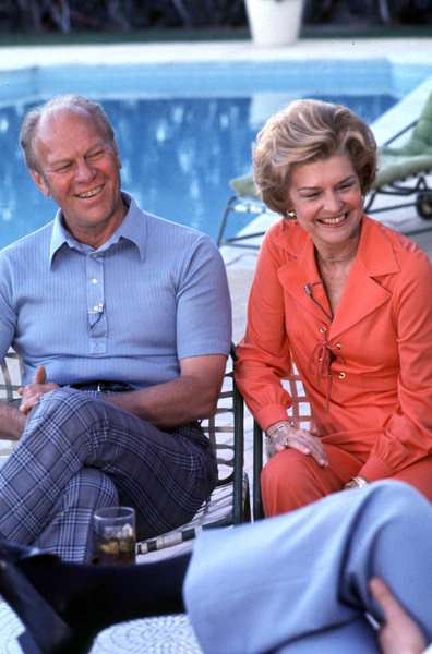 Gerald Ford withwife Betty Fordc. 1980**H.L. - Image 7684_0006