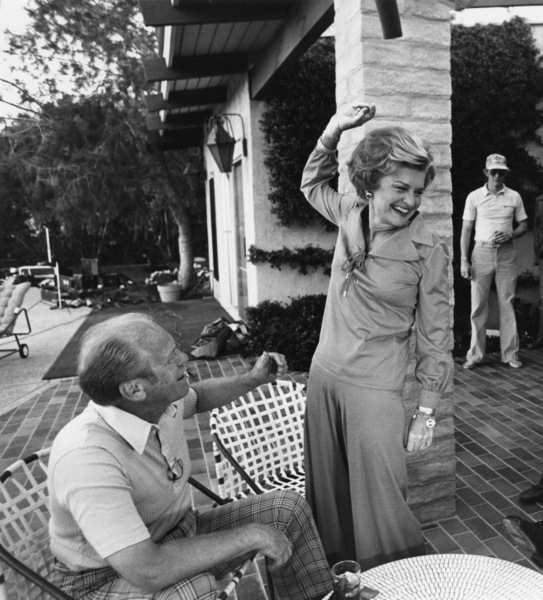 Gerald Ford with wife Betty and son Steven in Palm Springs, CA1977© 1978 Gunther - Image 7684_0021
