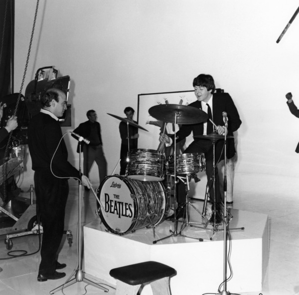 "The Beatles in ""A Hard Day"