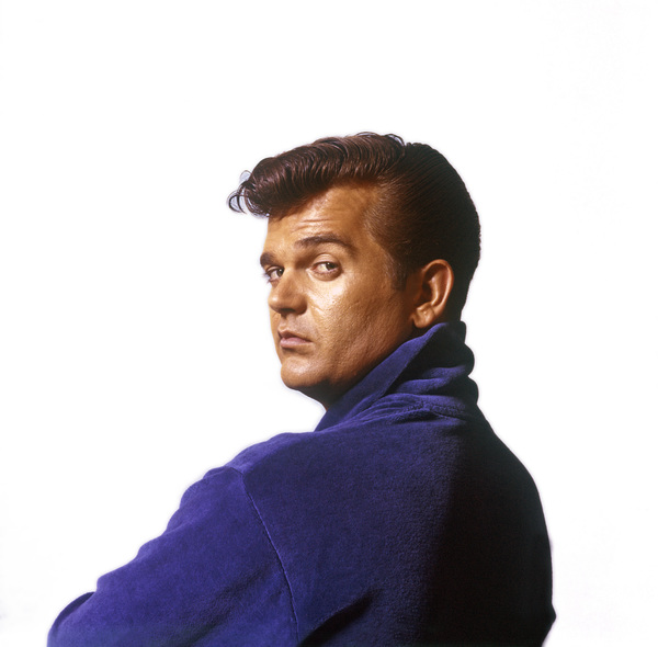 Vintage publicity studio portrait of pop celebrity and musician Conway Twitty taken in Manhattan, New Yorkcirca 1960 © 2005 Michael Levin - Image 7735_0014