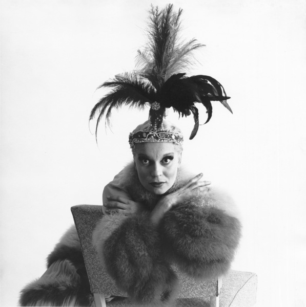 """Carol Channing in character for the Broadwaystage production of """"The Vamp""""11/28/55 © 2000 Mark Shaw - Image 7849_0017"""