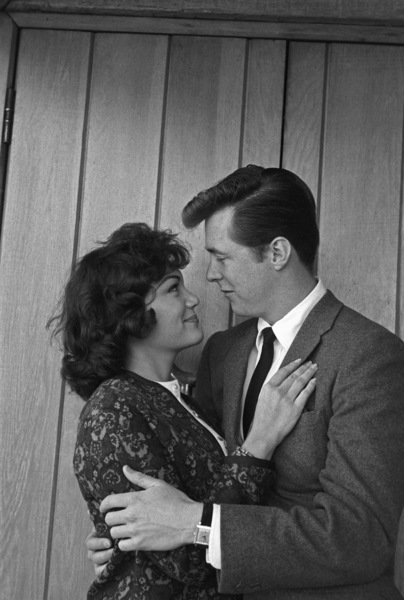 "Connie Francis and Edd ""Kookie"" Byrnescirca 1960s© 1978 David Sutton - Image 7908_0017"