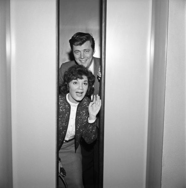 "Connie Francis and Edd ""Kookie"" Byrnescirca 1960s© 1978 David Sutton - Image 7908_0019"