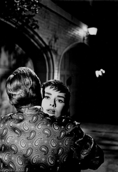 """Sabrina""William Holden and Audrey Hepburn1953© 2000 Mark Shaw   - Image 8124_0025"
