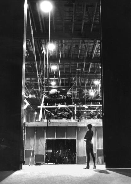 "Audrey Hepburn behind the scenes of ""Sabrina"" 1953© 2000 Mark Shaw - Image 8124_0033"
