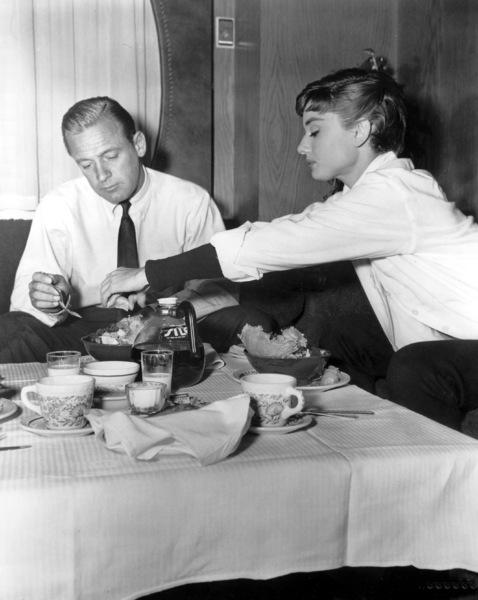 """Sabrina""Audrey Hepburn, William Holden, 1954, Paramount, **I.V. - Image 8124_0054"