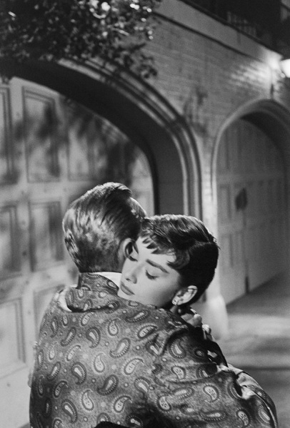"""William Holden and Audrey Hepburn during the making of """"Sabrina"""" 1953© 2007 Mark Shaw - Image 8124_0106"""