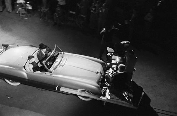 """Audrey Hepburn on the set of """"Sabrina""""1953© 2007 Mark Shaw - Image 8124_0107"""