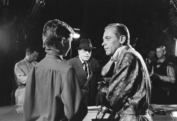 "Audrey Hepburn, Humphrey Bogart and William Holden on the set of ""Sabrina""1953© 2007 Mark Shaw - Image 8124_0111"