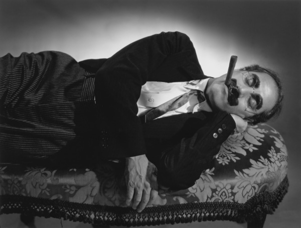 "Groucho Marx lying down on a couch for ""A Day at the Races""1936 © 1978 Ted Allan - Image 820_75"