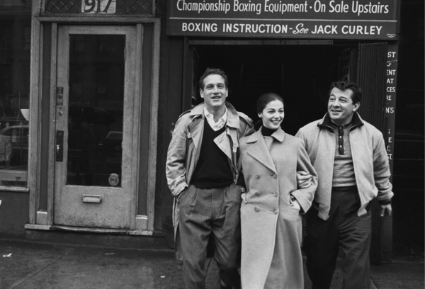 """""""Somebody Up There Likes Me""""Paul Newman, Pier Angeli, Rocky Graziano1956© 1978 Sanford Roth / A.M.P.A.S. - Image 8216_0024"""