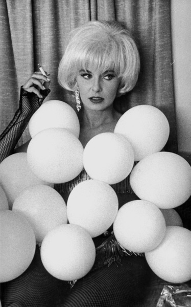 """Joanne Woodward in costume on the set of """"The Stripper,"""" 1963. © 1978 David SuttonMPTV - Image 8269_6"""