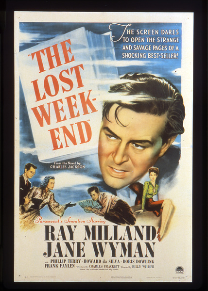 """The Lost Weekend""Poster1945 Paramount**I.V. - Image 8298_0016"