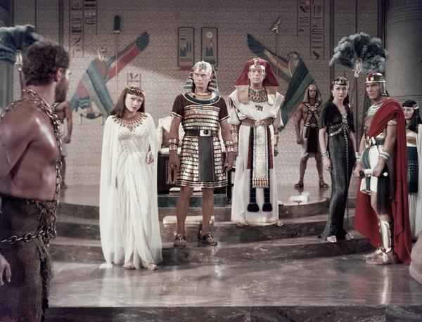 """Ten Commandments""Charlton Heston, Yvonne De Carlo, Yul Brynner, Cedric Hardwicke1956 Paramount - Image 8340_0018"