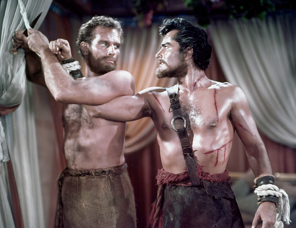 """Ten Commandments""Charlton Heston, John Derek1956 Paramount - Image 8340_0019"
