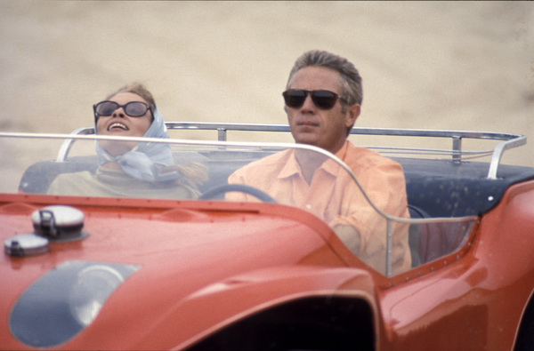 """""""The Thomas Crown Affair""""Faye Dunaway, Steve McQueen1968 United Artists - Image 8384_0227"""