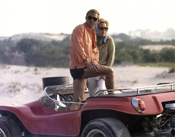 """The Thomas Crown Affair""Steve McQueen, Faye Dunaway1968 United Artists** I.V. - Image 8384_0242"