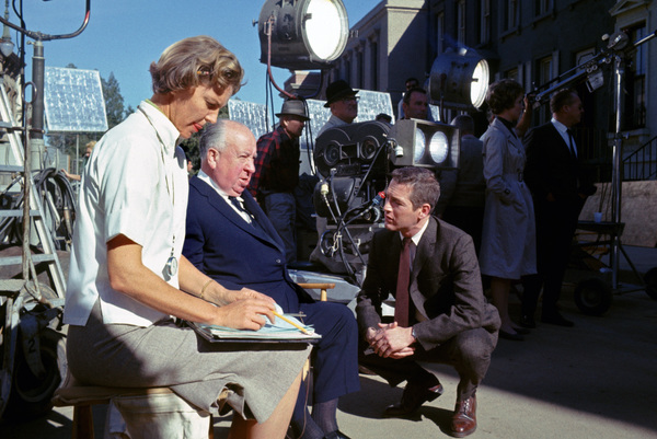 """""""Torn Curtain""""Julie Andrews, director Alfred Hitchcock, Paul Newman1966 Universal Pictures** I.V. - Image 8418_0060"""