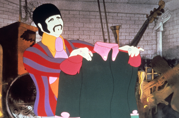 """Yellow Submarine""Ringo Starr1968King Features/Apple** I.V. - Image 8573_0015"