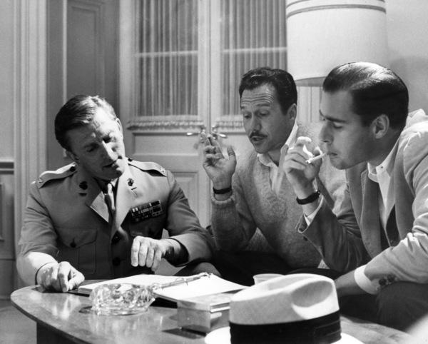"""""""Seven Days in May""""Kirk Douglas, producer Edward Lewis, director John Frankenheimer1964 Paramount Pictures** I.V. - Image 9027_0043"""