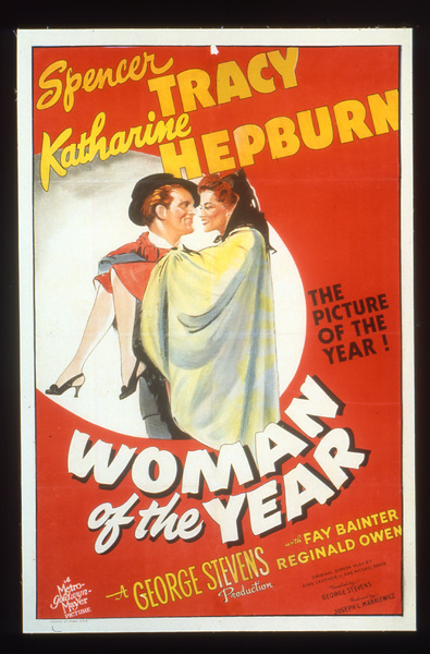 """Woman of the Year""Poster1942 MGM**I.V. - Image 9071_0005"
