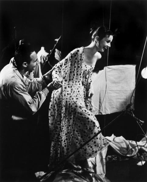 """Funny Face""Audrey Hepburn, director Stanley Donen1956 Paramount  - Image 9111_0076"