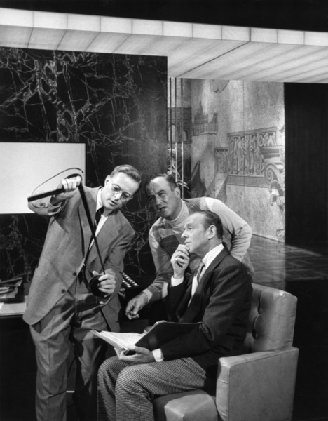 """""""Funny Face""""Editor Bill Reynolds, Fred Astaire1957© 1978 Lou Jacobs Jr. - Image 9111_0411"""