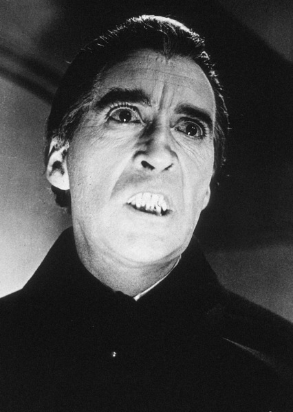 """Dracula Has Risen From The Grave""Christopher Lee1968 Warner Bros. - Image 9128_1"
