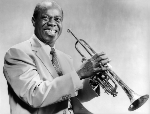 "Louis Armstrong in ""High Society""1956 MGM** I.V. - Image 9137_0019"
