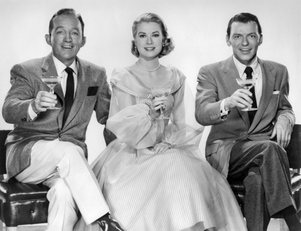 "Bing Crosby, Grace Kelly and Frank Sinatra in ""High Society""1956 MGM** I.V. - Image 9137_0020"