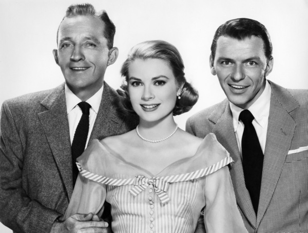 "Bing Crosby, Grace Kelly and Frank Sinatra in ""High Society""1956 MGM** I.V. - Image 9137_0021"