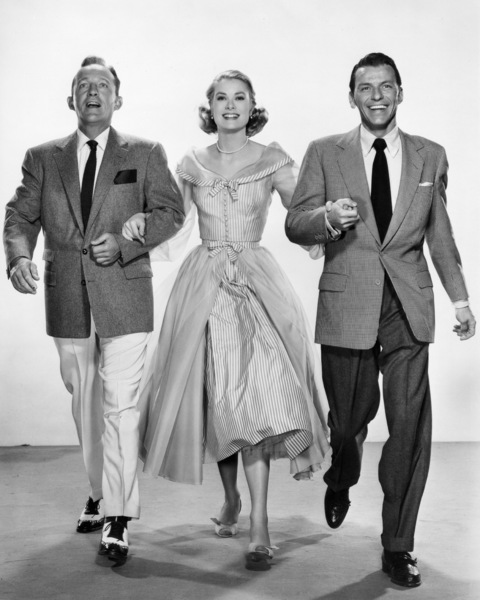 "Bing Crosby, Grace Kelly and Frank Sinatra in ""High Society""1956 MGM** I.V. - Image 9137_0022"