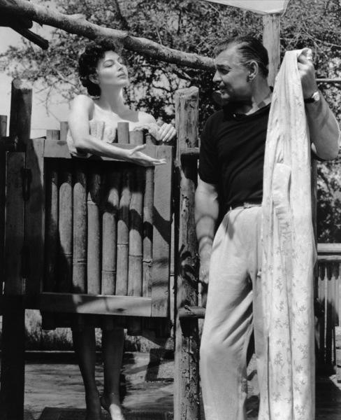 """Mogambo""Ava Gardner, Clark Gable1953 MGM - Image 9140_0005"