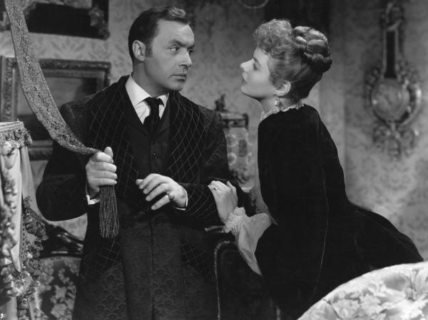"""Gaslight""Charles Boyer & Ingrid Bergman1944 MGM**I.V. - Image 9165_0027"