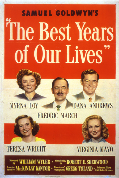 """The Best Years of Our Lives""Poster1946 Samuel Goldwyn**I.V. - Image 9199_0013"