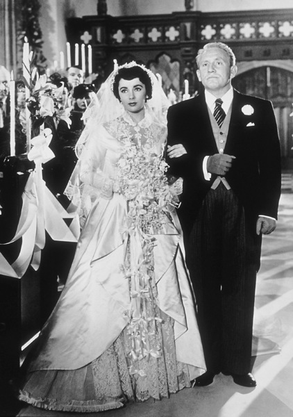 """Father of the Bride""Spencer Tracy and Elizabeth Taylor1950 MGM**R.C.MPTV - Image 9235_0003"
