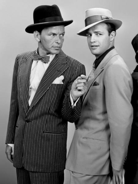 """Guys and Dolls""Frank Sinatra, Marlon Brando1955** I.V. - Image 9244_0078"