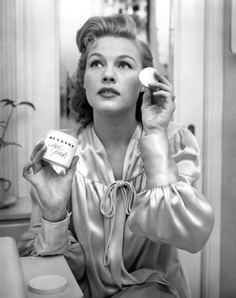 """Advertising""Woman using Oculine Eye Padscirca 1950s © 1978 David Sutton - Image 9277_0168"