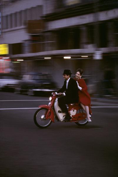 Motorcycles (Honda Motor Bikes)1964© 1978 Sid Avery - Image 9277_0190